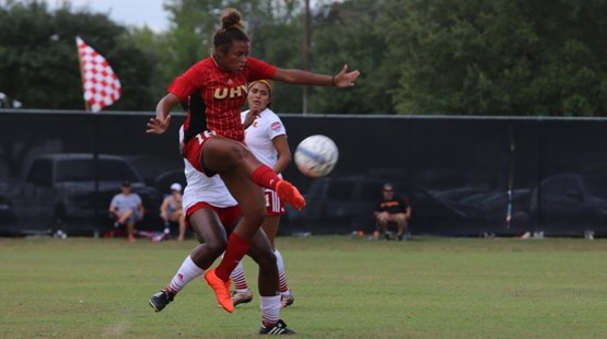 Ashleigh Thurman scored UHV's lone goal Saturday against Our Lady of the Lake.