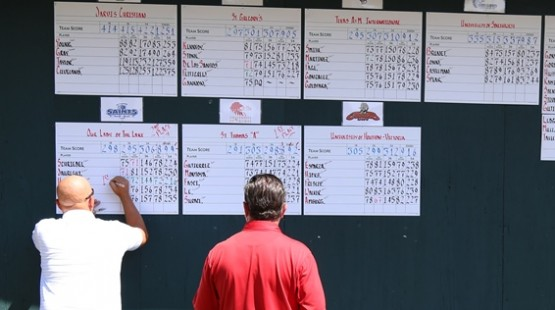 The fifth-annual UHV Claud Jacob Collegiate Invitational tees off on Sunday.