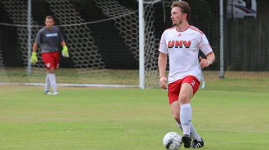 UHV's Jack Pluckwell has been selected the RRAC Character Athlete of the Week for Dec. 5-11.