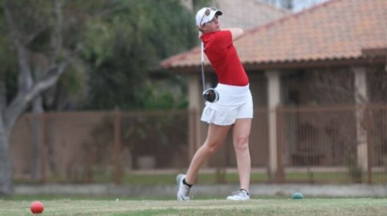 UHV's Shelbi Vincent posted a 76 Monday at the Jack Brown Memorial. (TAMUI Photo)