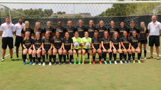 UHV women's soccer receives NSCAA Team Academic Award.