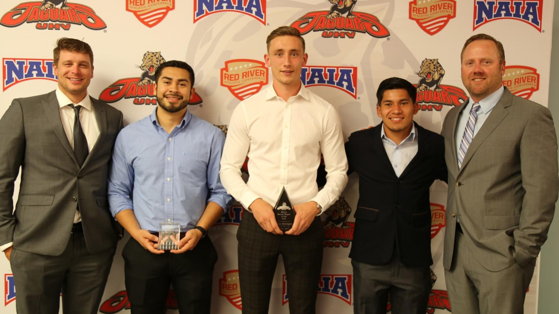 Hanningan named UHV Men's Soccer Player of the Year