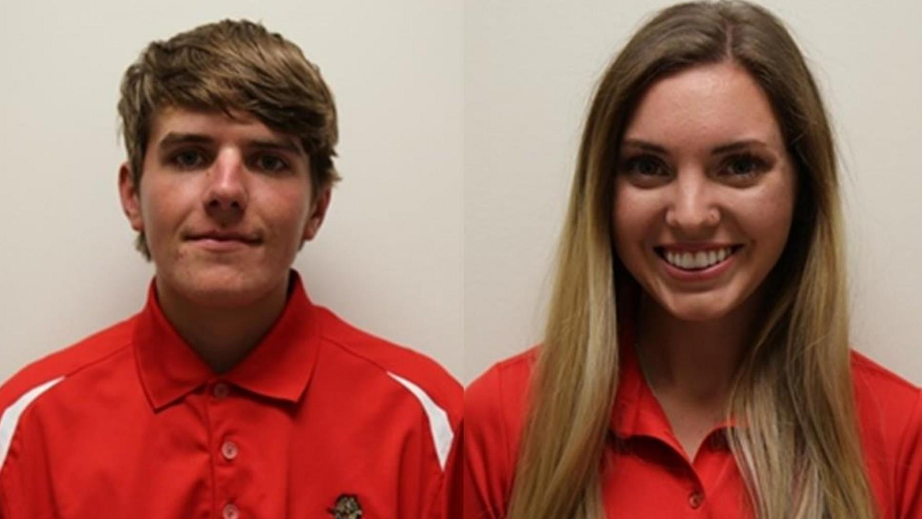 UHV's James Rollins and Shelbi Vincent have been named the RRAC Golfers of the Week for April 3-9.