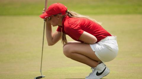 UHV's Shelbi Vincent is currently in 20th place at the PGA Minority Championship. (Montana Pritchard/PGA of America)
