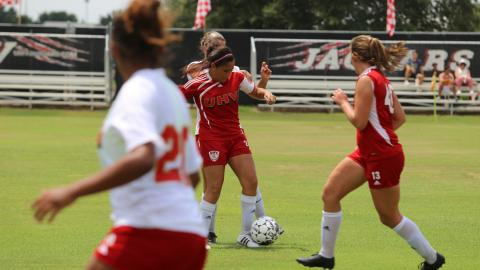 The UHV soccer teams will play exhibition games on April 1 and 8 at the UHV soccer field.