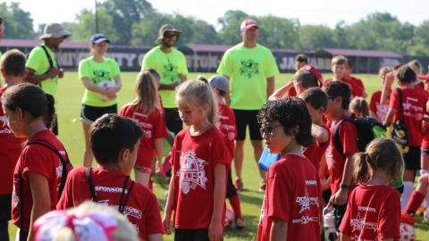 The UHV Summer Soccer Camp will be held June 5-9 and July 17-21.