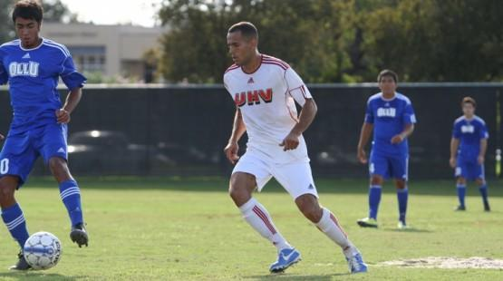 UHV's Stiven Ospina has been named the A.I.I. Male Athlete of the Week.