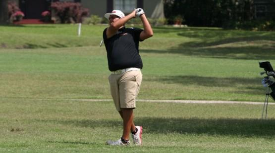 UHV's Vance Edwards finished tied for 20th Friday at the NAIA Men's Golf National Championships.