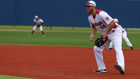 UHV's Andrew Gross was named the RRAC Player of the Week for the week of April 24-30 on Monday.