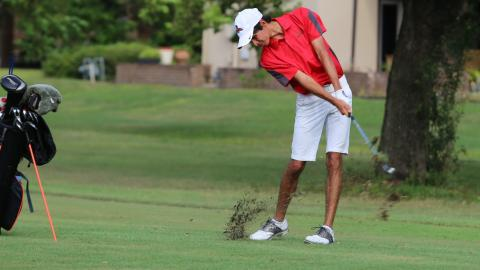 The UHV men's golf team will compete in the RRAC Championships on Monday and Tuesday in San Antonio.