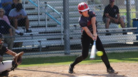 UHV's Aubri Hockenbury was named to the 2017 NAIA Softball All-America first team on Friday.