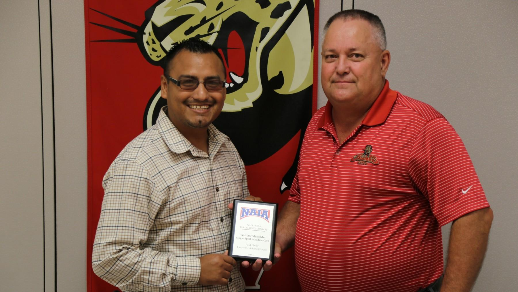 UHV earns awards in sports publication contest