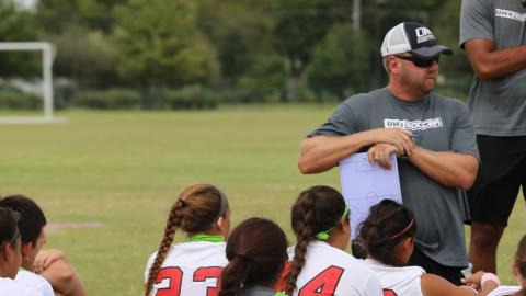 UHV men's and women's soccer coach Adrian Rigby has been named assistant AD at UHV.