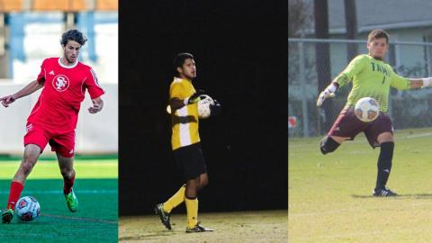 The UHV men's soccer team has signed five college transfers for the 2017 season.