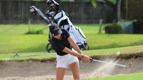 The UHV women's golf team wil compete in the SAC Championships this Monday and Tuesday in Oklahoma City.
