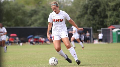 UHV senior Emily Lupton is ready to lead her team into the 2017 women's soccer season.