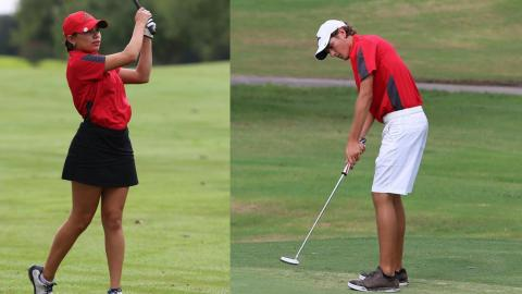 The UHV men's and women's golf teams will open the 2017-18 season in September.