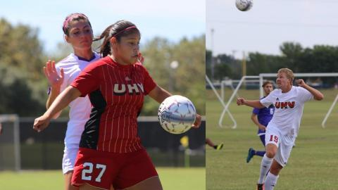 The UHV soccer season kicks off Sept. 2 when the women host Sul Ross and the men host William Carey.