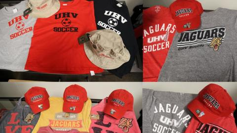 New UHV Jaguars merchandise has arrived for the upcoming 2017-18 season.